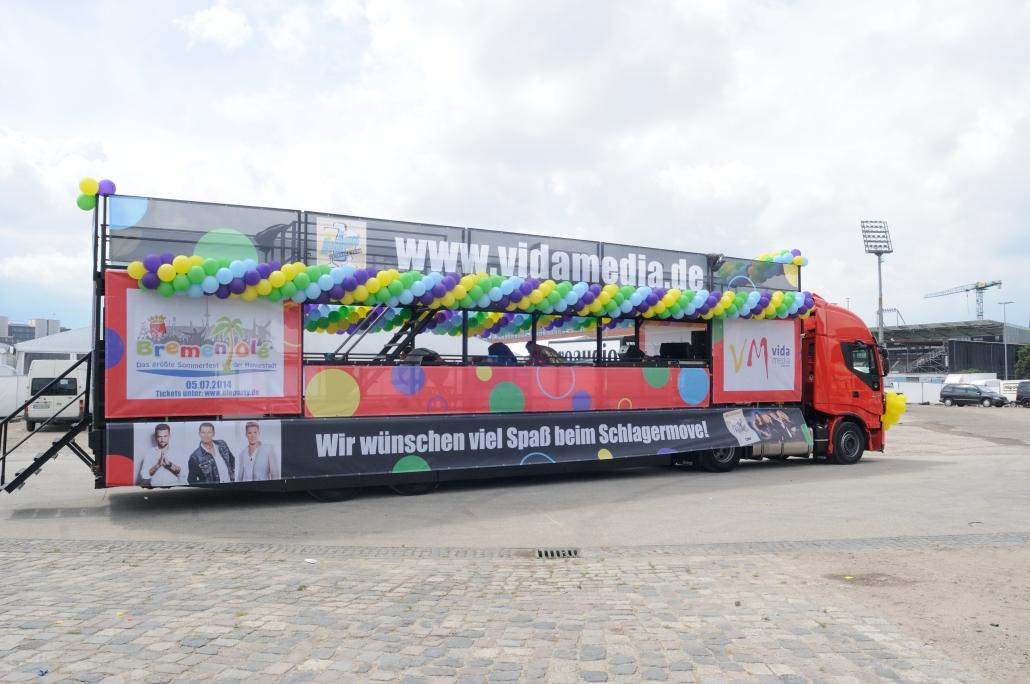 Schowtruck Event - Loonee Agentur für Kommunikation